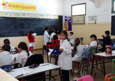 Escuela Mariano Necochea, San Juan