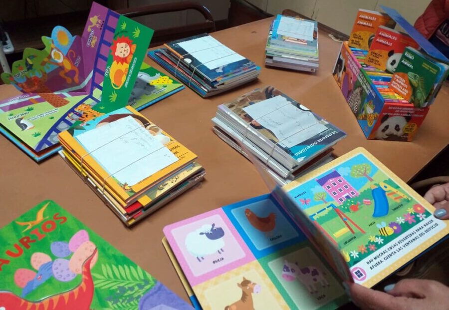 Kinderbücher für das Projekt in Salta