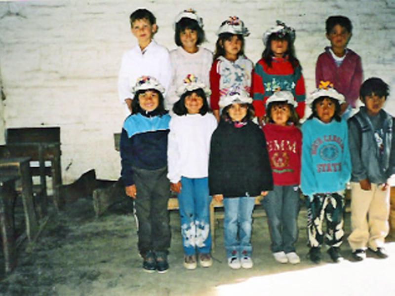 Kurzfristige Unterstützung einer kleinen Schule im Chaco.