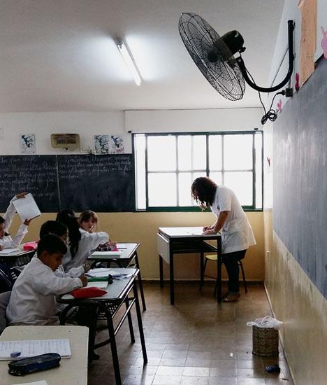 Raumventilatoren für die Klassenräume