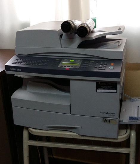 Anschaffung 2020: ein Fotokopierer wurde gebraucht. Der alte war zu störanfällig geworden.